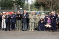 HAKKARİ VALİSİ - Şehit Asker İçin Hakkari'de Tören Düzenlendi