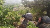 UZAKTAN KUMANDA - Teröristlere Ait 8 Sığınak Yerle Bir Edildi