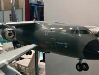 ASKERİ UÇAK - Türkiye'nin üreteceği dev uçak tanıtıldı