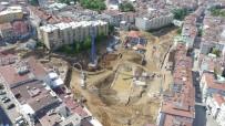SULAR VADİSİ - Yeşille Mavinin Buluşacağı 'Sular Vadisi' Hızla Yükseliyor