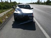 Afyonkarahisar'da Trafik Kazası, 2 Yaralı