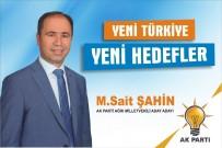 TAŞKıRAN - Ağrılı İşadamı M. Sait Şahin, AK Parti Milletvekili Aday Adayı Oldu