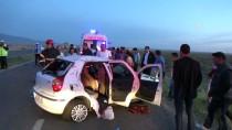ÇıTAK - Aksaray'da Trafik Kazası Açıklaması 2 Ölü, 6 Yaralı