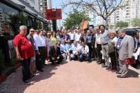 BASIN KARTI - Başkan Türel, Konuk Gazetecilerle Buluştu