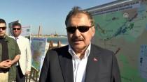 DERİNER BARAJI - 'Kanal Edirne'nin yüzde 95'i bitti'
