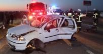 ÇıTAK - Otomobil Takla Attı Açıklaması 2 Ölü, 5 Yaralı