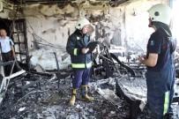 İTFAİYE ERİ - Yangında Mahsur Kalan 9 Yaşındaki Çocuğu İtfaiye Kurtardı