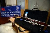 MÜZİK ALETİ - 100 Bin Lira Değerindeki Müzik Aletlerini Çalan Çocuklar Yakalandı
