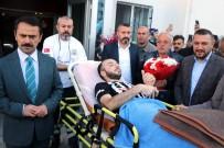 Afrin Gazisi Memleketi Nevşehir'de Dualarla Karşılandı