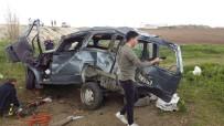Amasya'da Kamyonet Takla Attı Açıklaması 1 Ölü, 3 Yaralı