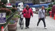 Bisikletle Dünya Turuna Çıkan Gürcü Sporcu Amasya'da