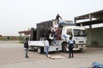 Bismil Belediyesinden Taziye Evlerine Sandalye Yardımı