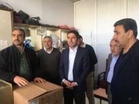 DAYATMA - CHP'li Kiraz'dan, Köy Garajı Esnafına Ziyaret