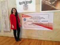 TIFLIS - Ebru Sanatına Katkı İçin Bu Kez Gürcistan'a Gittiler