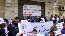 İŞİTME ENGELLİ - Gazze'deki Engellilerden 'UNRWA Protestosu'