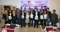 Genç Gazeteci Adayları, Sertifikalarını Aldı