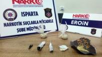 Isparta'da Yolcu Otobüslerinde Uyuşturucu Operasyonu Açıklaması 9 Gözaltı