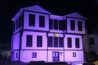 Kırklareli Belediyesi Otizme Dikkat Çekmek İçin Mavi Işık Yaktı