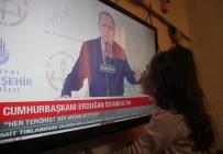 TEMİZLİK GÖREVLİSİ - Küçük Alya 'Tayyip Dede'sini Göremeyince Gözyaşlarına Boğuldu