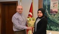 MEHMED ALI SARAOĞLU - Öğrencilerden Başkan Saraoğlu'na Teşekkür Ziyareti