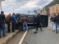 RİZE BELEDİYESİ - Rize'de Trafik Kazası Açıklaması 1 Ölü