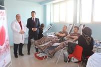 HÜSEYIN GÜLER - Şehitler İçin Kurbanlar Kesilip Kan Bağışı Yapıldı