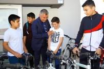 TÜRKIYE BISIKLET FEDERASYONU - Sözen'den Çocuklara Bisiklet