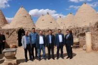 MOZAİK MÜZESİ - Yargı Mensupları Tarihi Mekanları Gezdi