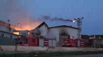 Yumurta Viyolü Üretimi Fabrikasında Yangın