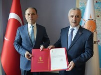 AK Parti Gördes İlçe Başkanlığına Rıza Dilcan Atandı