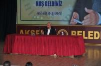 VEHBI VAKKASOĞLU - Akşehir'de Vehbi Vakkasoğlu'ndan Söyleşi Ve İmza Günü