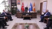 SELAMI ALTıNOK - Altınok'tan AK Parti İl Başkanlığına Ziyaret