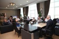 ESNAF ODASI - Başkan Altuğ'a Tebrik Ziyaretleri Sürüyor