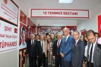 BATMAN VALİSİ - Batman'da Şehit Abdullah Tayyip Olçok Kütüphanesi Açıldı