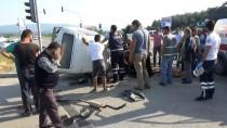 Çanakkale'de Trafik Kazası Açıklaması 1 Ölü, 4 Yaralı