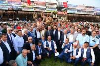 İBRAHIM AYDıN - Kumluca Yağlı Güreşlerinde Ali Gürbüz Başpehlivan Oldu