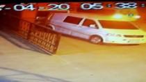 HIRSIZLIK ÇETESİ - (Özel) Hırsızlar Minibüsü Soyarken Fark Edince Apar Topar Kaçtı