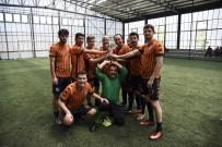 AÇIKÖĞRETİM - Personel Halı Saha Futbol Turnuvası'nda Gülen Taraf Havacılık Takımı Oldu