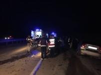 Sakarya'da Ters Yön Kazası Açıklaması 4 Yaralı