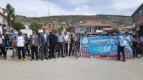 Sincik'te Bisiklet Yarışması Düzenlendi