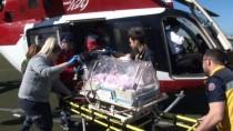 AMBULANS HELİKOPTER - Ambulans Helikopter Afgan Bebek İçin Havalandı