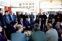 AHMET ÇAKıR - Başkan Çakır' Minibüsçüler  Odasını Ziyaret Etti