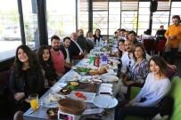 ŞEHİR TİYATROSU - Başkan Tollu, Şehir Tiyatrosu Oyuncularıyla Bir Araya Geldi