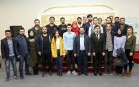 AKSARAY ÜNIVERSITESI - Başkan Yazgı, Öğrencilerle Buluştu