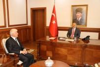 HEKİMHAN - Belediye Başkanı Millioğulları, Vali Kaban'a Projelerini Anlattı