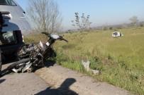 SINANOĞLU - Çaldığı Motosikletle Kaza Yapan Genç Hayatını Kaybetti