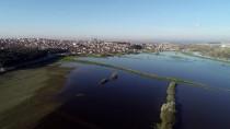 SELIMIYE - Edirne'de Taşkından Etkilenen Tarlalar Gölü Andırıyor