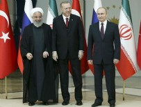 HASAN RUHANİ - Suriye zirvesi sonrası üç liderden açıklama