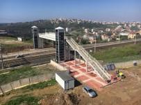 ENGELLİ ASANSÖRÜ - Gebze Demiryolu Yaya Köprüsü Tamamlanıyor