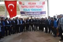 AK PARTİ İLÇE BAŞKANI - Hilvan'da Semt Pazarının Açılışı Gerçekleştirildi